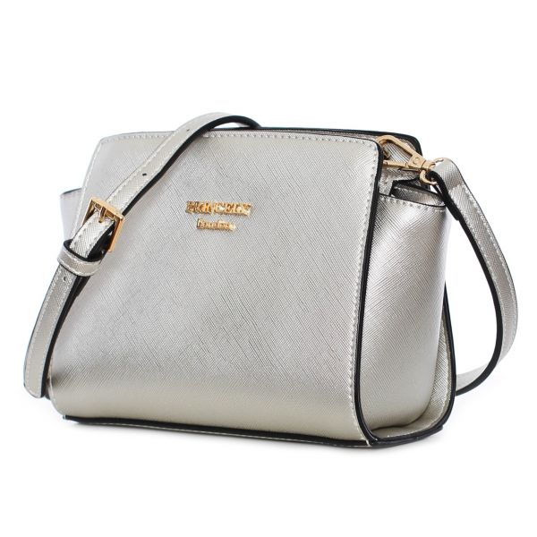 "Schultertasche ""Katy Small"" Silber"