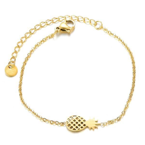 Armband PINEAPPLE gold