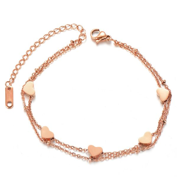 Armband LOVE SQUAD roségold