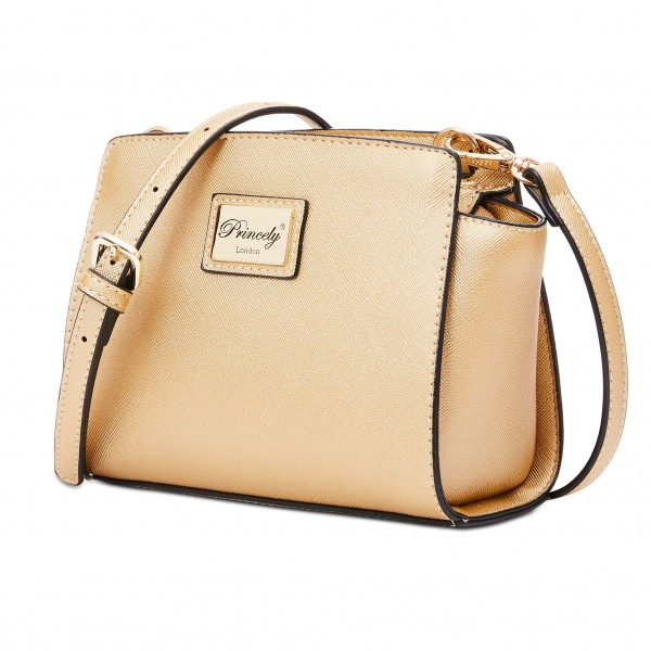 """Schultertasche """"Katy Small"""" Gold"""